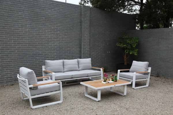 Portofino Premium Sunfiber® fabric 4pc lounge setting - All weather®