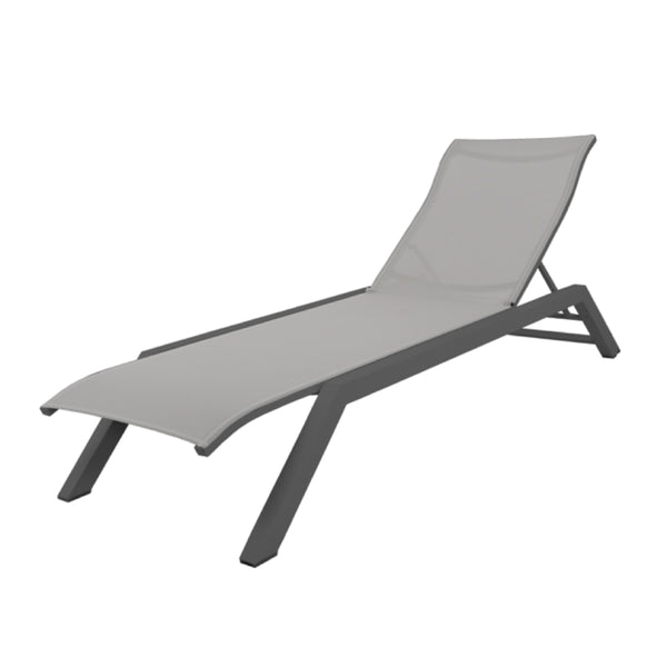APOLLO Premium Batyline® Fabric Sun Lounge - All weather Textilene® SUN LOUNGE Les Jardins - OSMEN OUTDOOR FURNITURE-Sydney Metro Free Delivery