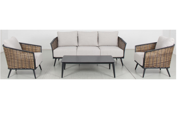 BARNSLEY 4pc Lounge Set