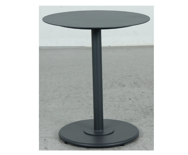 Checker Round Bistro Table 65x65