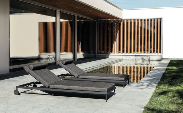 Cleo premium acrylic fabric® sun lounge - All weather®