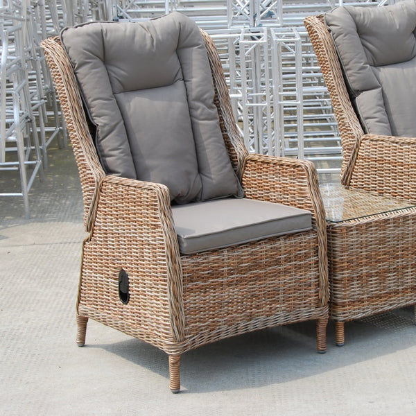 HAWAII Recliner Chair - OSMEN OUTDOOR FURNITURE-Sydney Metro Free Delivery