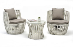 Zenica 3pc Balcony setting Balcony Nest - OSMEN OUTDOOR FURNITURE-Sydney Metro Free Delivery