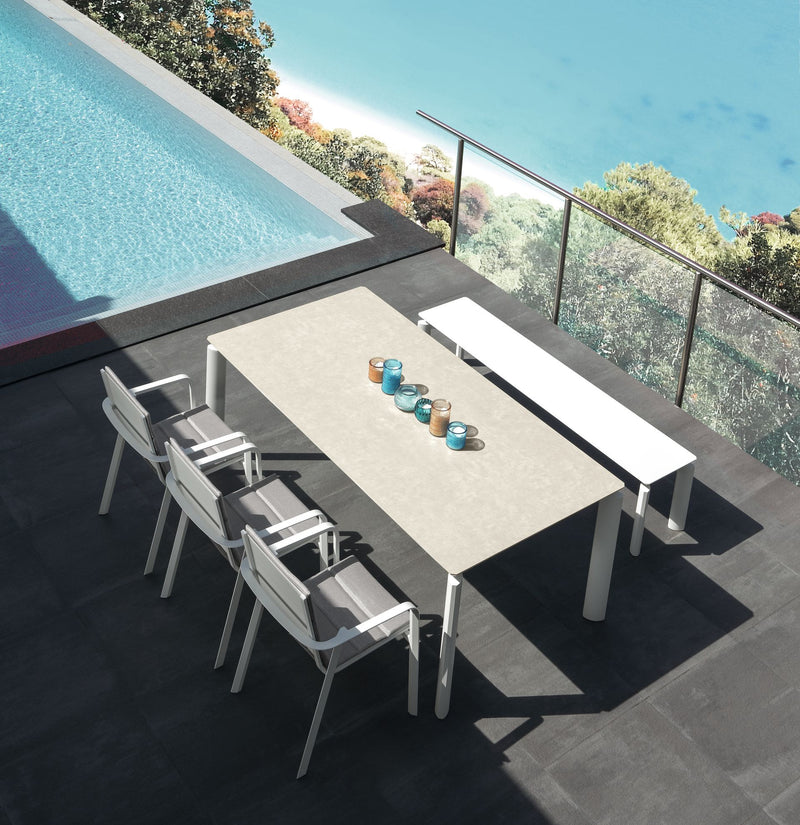 MILO Extension Table (160/215) DINING Talenti - OSMEN OUTDOOR FURNITURE-Sydney Metro Free Delivery