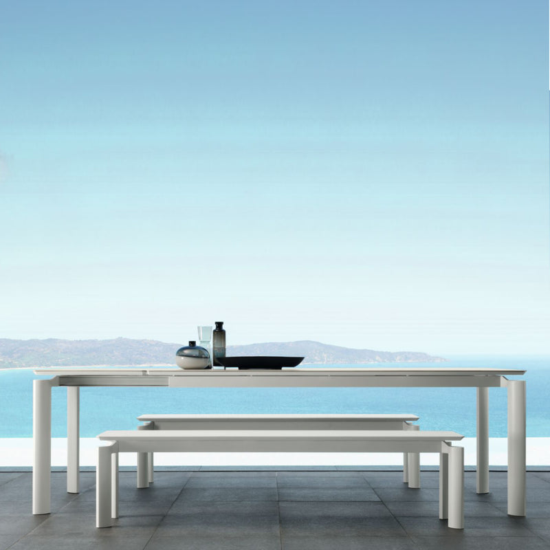 Milo Extension Table (200/260) - Ceramic (Or) PCA Top DINING Talenti - OSMEN OUTDOOR FURNITURE-Sydney Metro Free Delivery