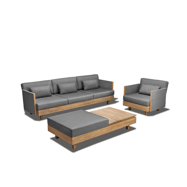 Module-X Premium BeeWett® fabric F2 Lounge setting - All weather LOUNGE Applebee - OSMEN OUTDOOR FURNITURE-Sydney Metro Free Delivery