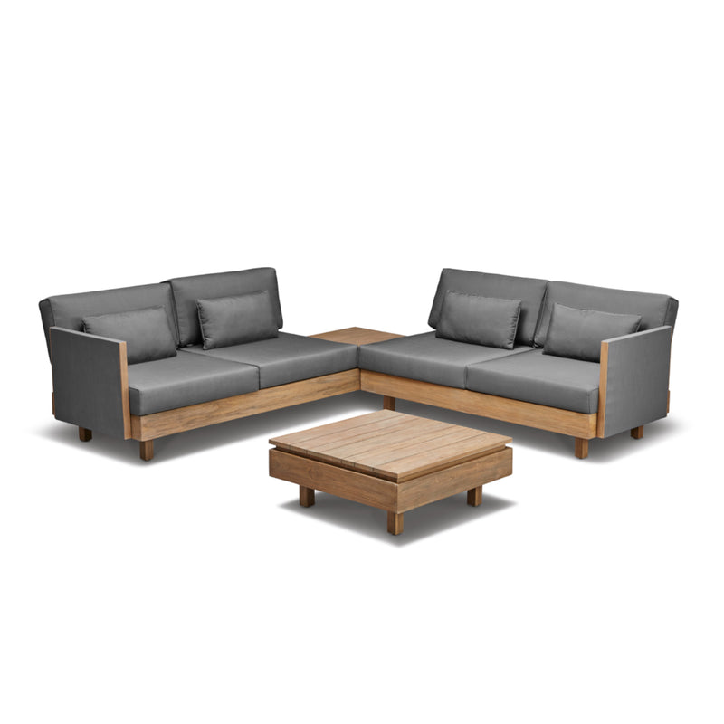 Module-X Premium BeeWett® fabric F4 Lounge setting - All weather LOUNGE Applebee - OSMEN OUTDOOR FURNITURE-Sydney Metro Free Delivery