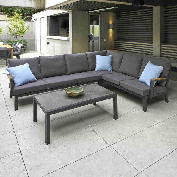 MONT CARLO Modular 5PC Kit/Set LOUNGE MELTON CRAFT - OSMEN OUTDOOR FURNITURE-Sydney Metro Free Delivery