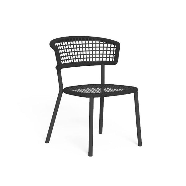 Moon premium acrylic® rope dining chair - All weather®