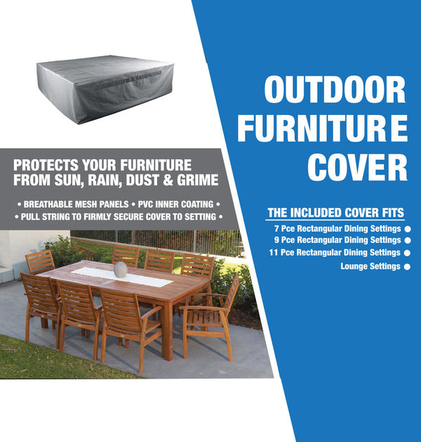 PROTECTIVE COVER PROTECTIVE COVERS GOOD LIVING GLOBAL - OSMEN OUTDOOR FURNITURE-Sydney Metro Free Delivery