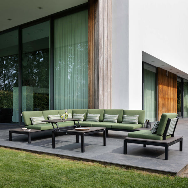 PEBBLE BEACH 2.0 Modular 6PC Kit/Set LOUNGE Applebee - OSMEN OUTDOOR FURNITURE-Sydney Metro Free Delivery