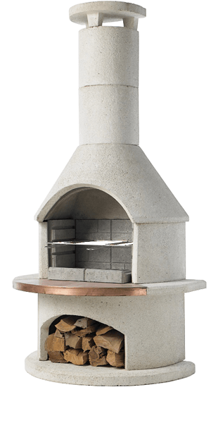 RONDO OUTDOOR (FIREPLACE, BBQ & PIZZA OVEN) - 3 IN ONE