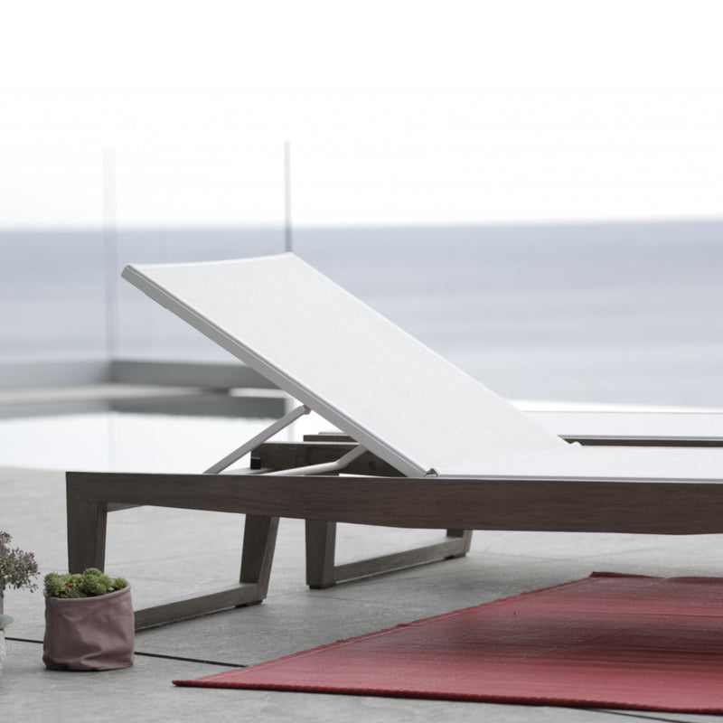 SKAAL Sun Lounger SUN LOUNGE Les Jardins - OSMEN OUTDOOR FURNITURE-Sydney Metro Free Delivery