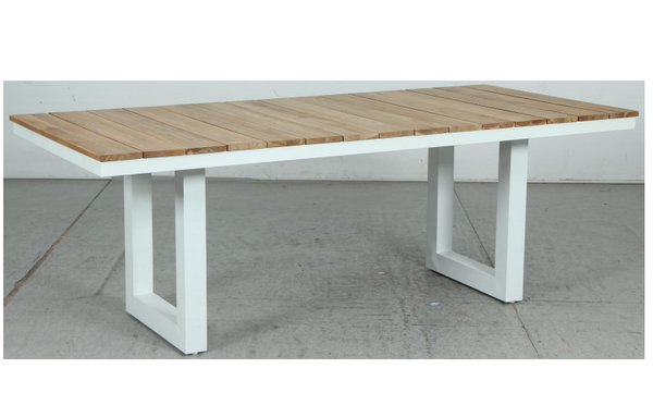 SANCTON U LEG Cement Dining Table