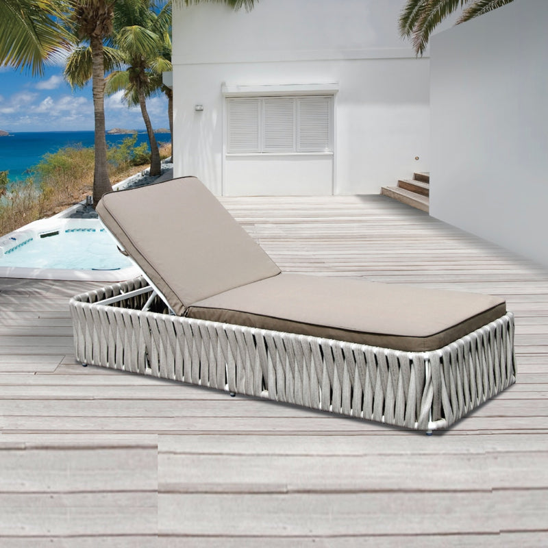 JAMAICA  Sun Lounge SUN LOUNGE Nest - OSMEN OUTDOOR FURNITURE-Sydney Metro Free Delivery