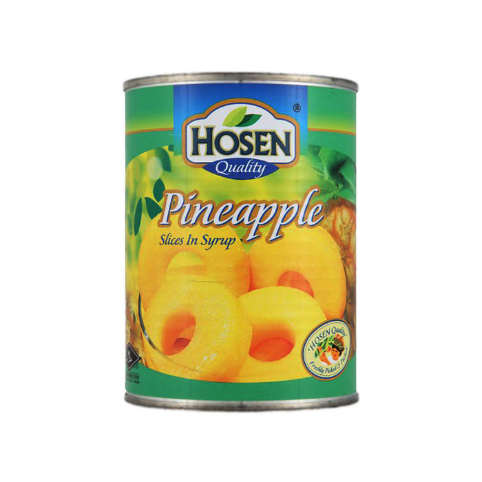 Hosen Pineapple Slices In Syrup - 565g
