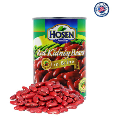 Hosen Red Kidney Beans In Brine Can, 425g