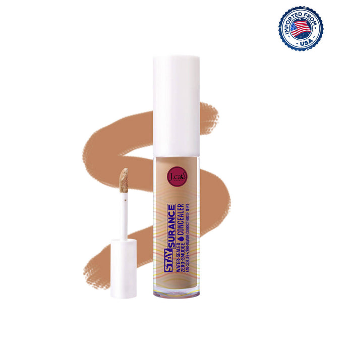 J.Cat Beauty Staysurance Water-Sealed & Zero-Smudge Concealer - Soft Tan