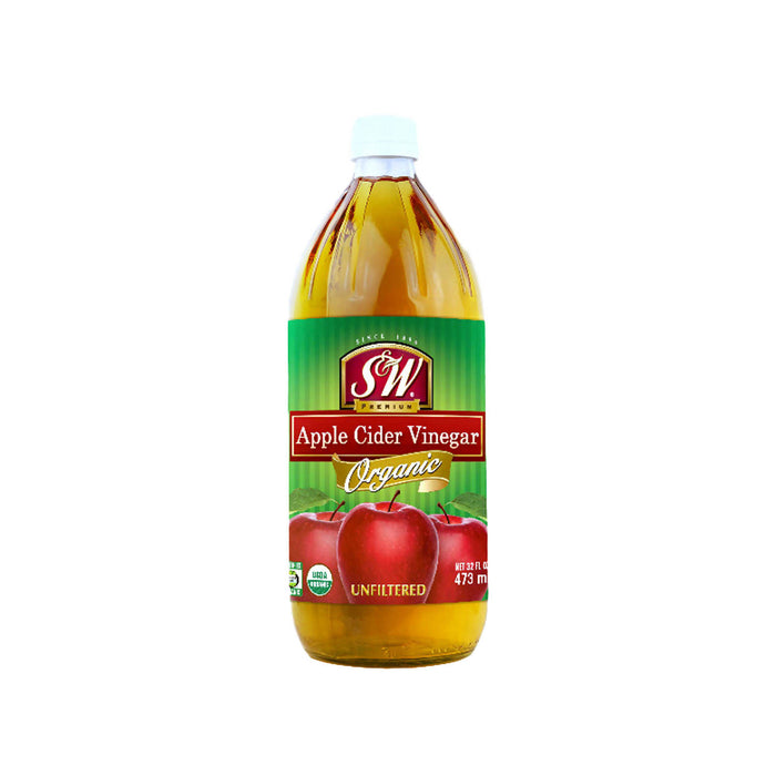 Smith & Wesson Organic Apple Cider Vinegar 473ml, Pack of 2