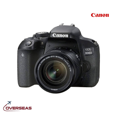 Canon EOS 800D EF-S 18-55mm DSLR Camera, 1895C008AA