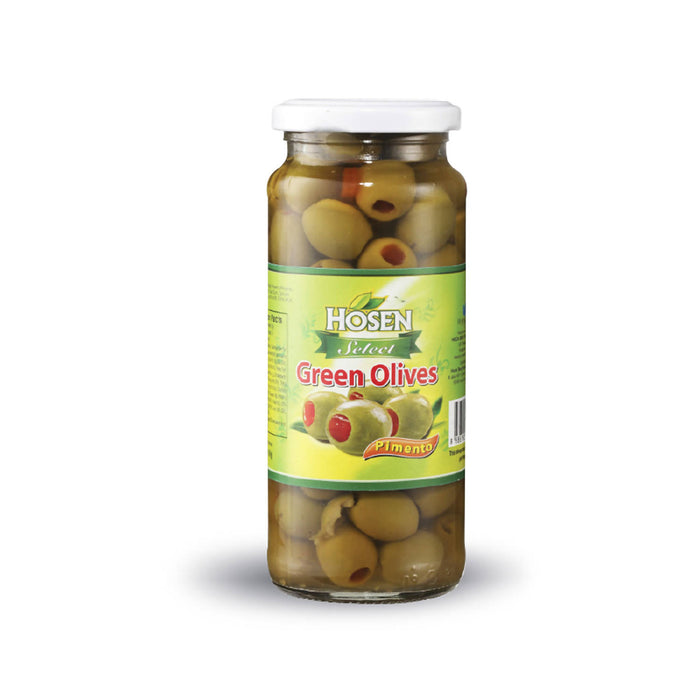 Hosen Select Green Stuffed Olives - 350g