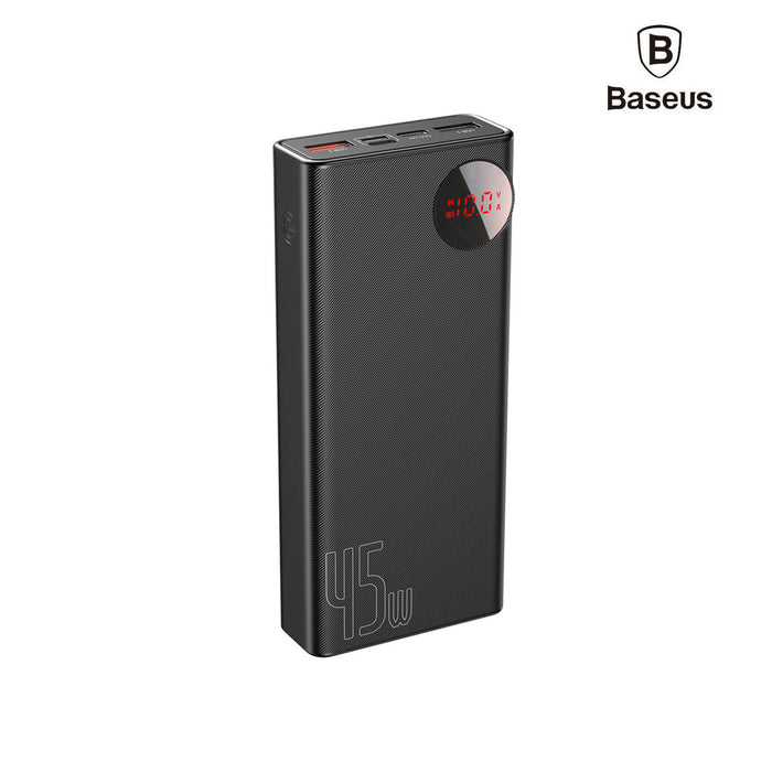 Baseus Mulight Digital Display Quick Charge Power Bank 45W 20000mAh - PPMY-A01