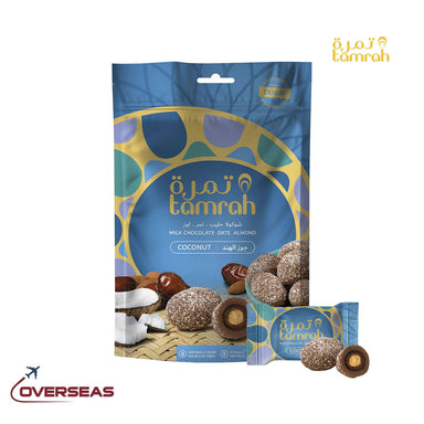 Tamrah Coconut Chocolate Zipper bag - 100g