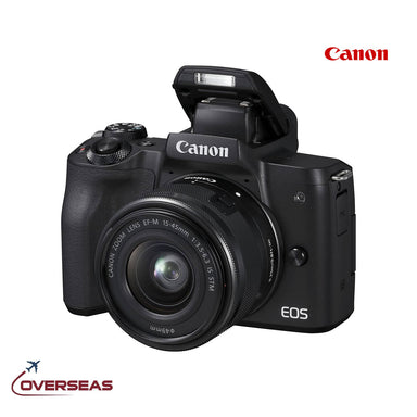 Canon EOS M50 EF-M 15-45mm Mirrorless Digital Camera, ‎2680C012
