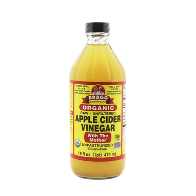 Bragg Organic Apple Cider Vinegar, 473 ml