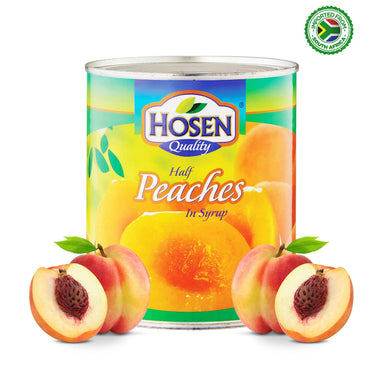 Hosen Peaches Half In Syrup - 825g