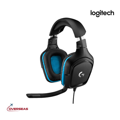 Logitech 7.1 Surround Sound Wired Over-Ear Gaming Headset - G432