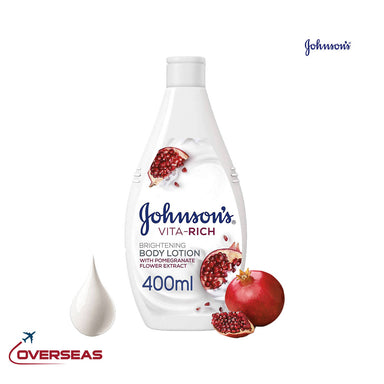 Johnson's Body Lotion Brightening Pomegranate Flower Vita Rich Smoothing Lotion - 400ml