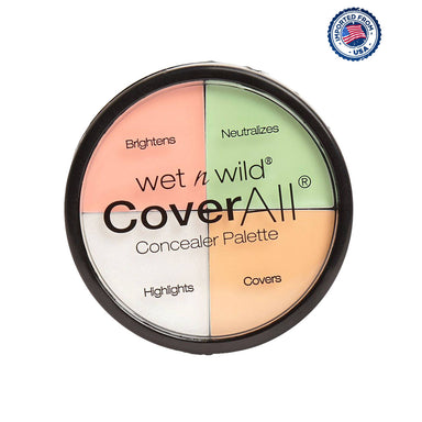 Wet N Wild Cover All Concealer Palette - Color Commentary