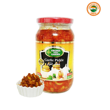 Virginia Green Garden Garlic Pickle - 400g