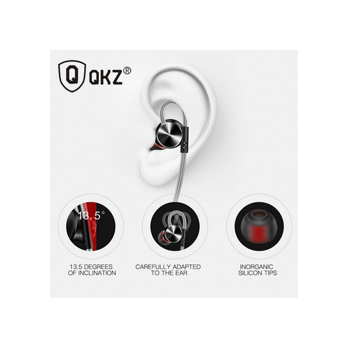 QKZ DM10 In-Ear Extra Bass Earphone