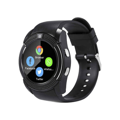 Generic V8 Waterproof Sports Bluetooth Smart Watch