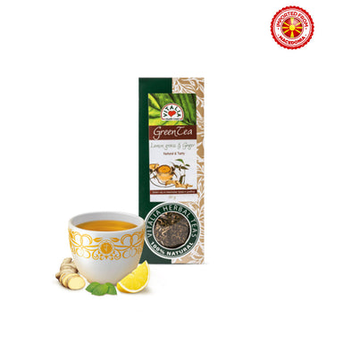 Vitalia Green Tea With Lemon & Ginger - 50g