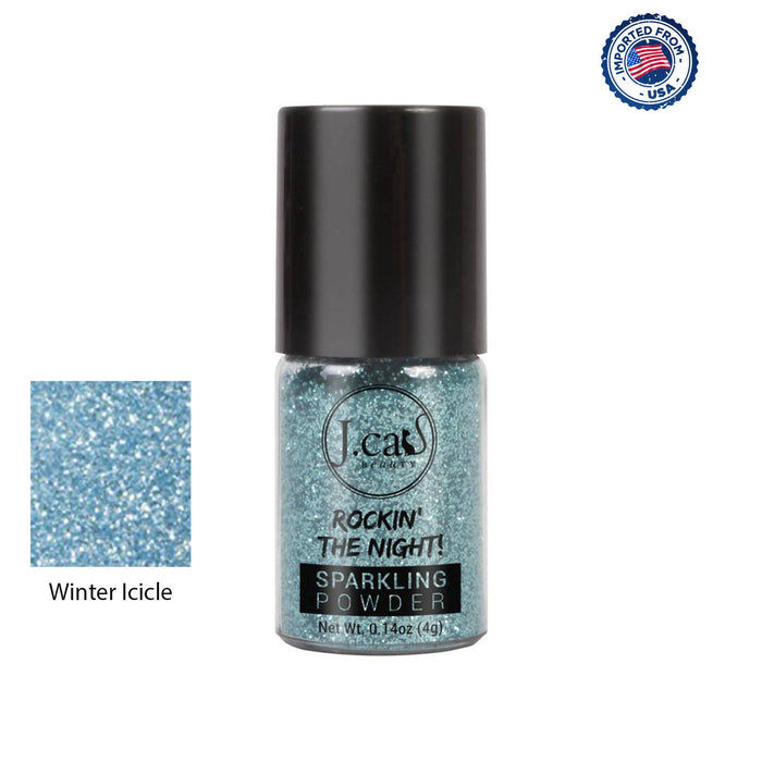 J.Cat Beauty Rockin' The Night! Sparkling Powder - Winter Icicle, 4g
