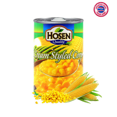 Hosen Cream Styled Corn - 425g
