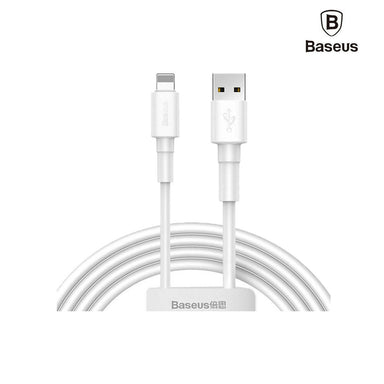 Baseus Mini White Cable USB For iPhone - CALSW-02