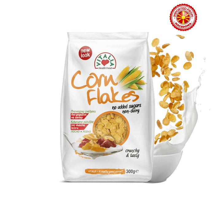 Vitalia Corn Flakes No Added Suger, 300 g