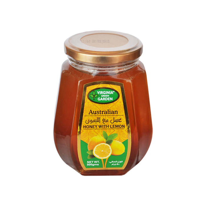 Virginia Green Garden Australian Honey With Lemon, 500g