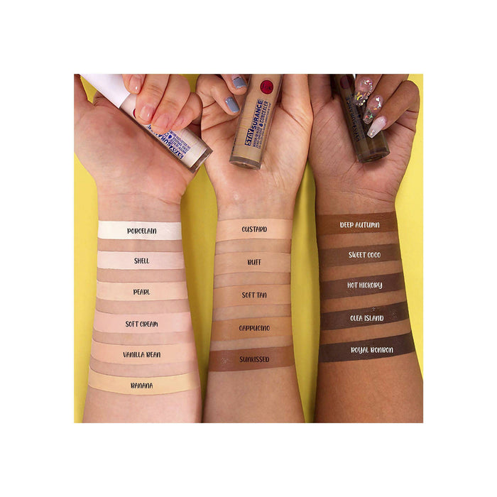 J.Cat Beauty Staysurance Water-Sealed & Zero-Smudge Concealer - Buff