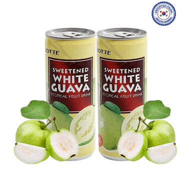 Lotte Sweetened White Guava Drink 240ml, Pack of 2