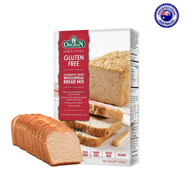 Orgran Gluten Free Alternative Grain Wholemeal Bread Mix, 450g