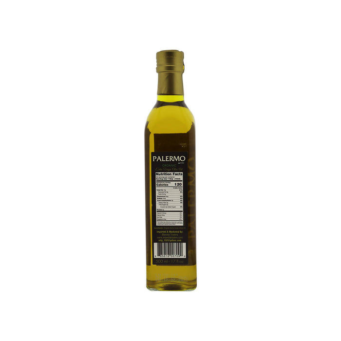 Palermo Organic Extra Virgin Olive Oil, 500 ml