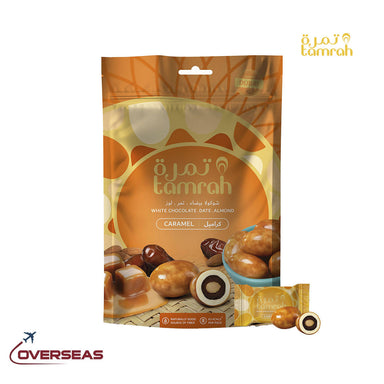 Tamrah Caramel Chocolate Zipper Bag - 100g