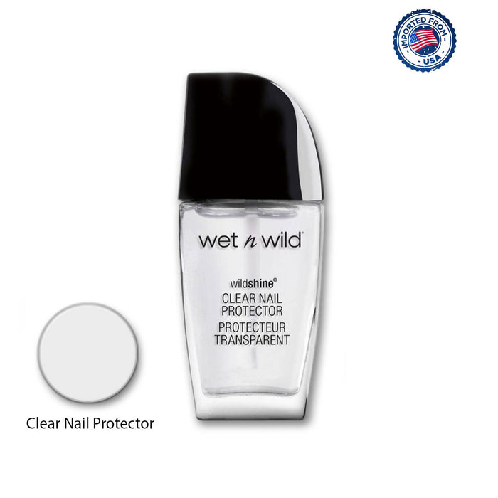 Wet N Wild Wildshine Nail Color - Clear Nail Protector