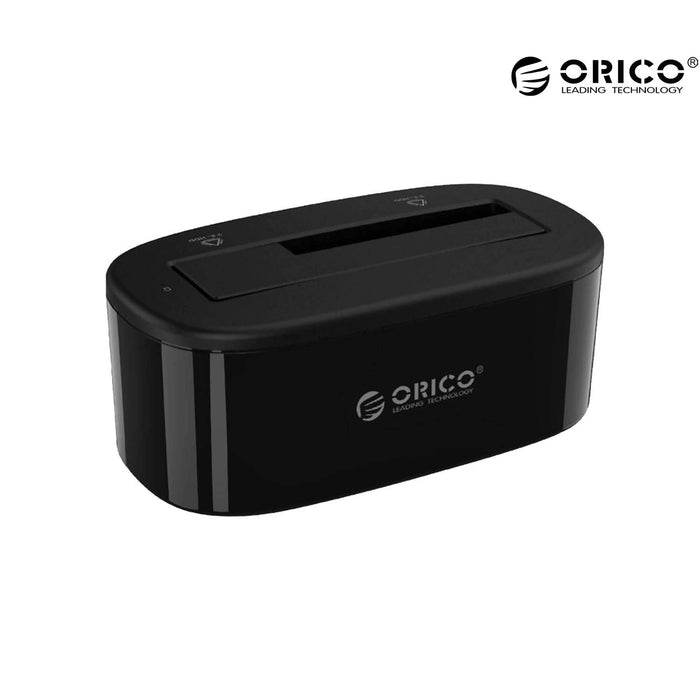 ORICO 2.5Inch-3.5Inch HDD And SSD Hard Drive Dock - 6218US3-EU-BK