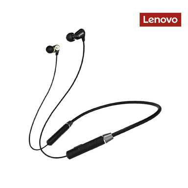 Lenovo Bluetooth Neckband In Ear Earbuds - HE08